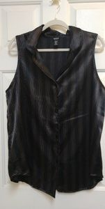 NY & Co button front tank